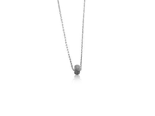 La Roue de Bonheur White Diamonds Necklace