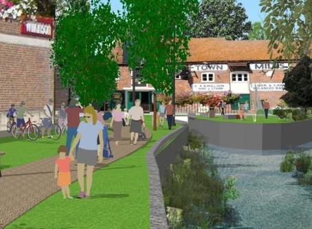 Town Mills Riverside Park Work to Start