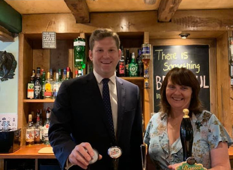 Cheers from Smannell Pub as Council Grants Rates Relief
