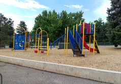 Henderson play structure at school