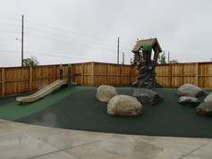Custom playground for ages 2-5 years