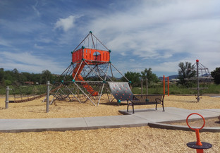 Play structure for ages 5-12 years