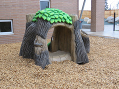 Custom play structure for toddlers