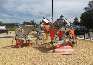 Play structure for ages 2-5 years