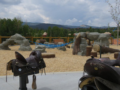 Custom playground near Fraser