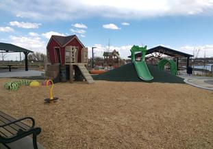 Custom farmhouse play structure