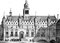 Stadhuis voor de renovatie