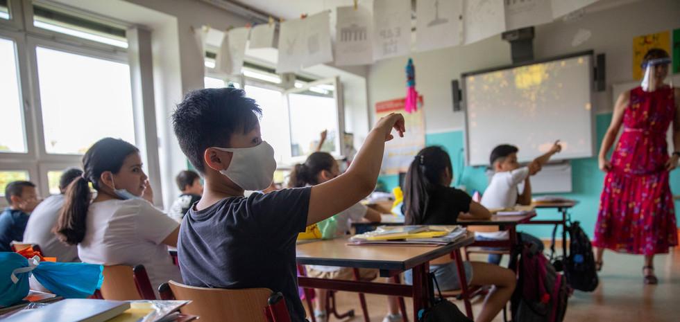 Leraren, verzet je tegen de roep om mondkapjes