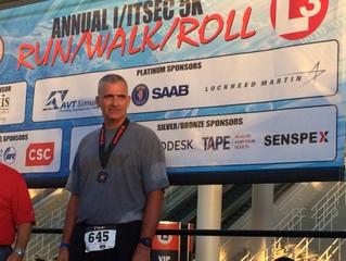Annual I/ITSEC Run/Walk/Roll Successful