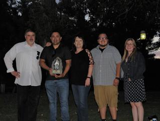 Senspex Receives Flying 40 Award at The Albuquerque Zoo