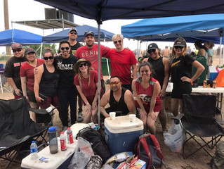 Senspex Takes Part in 25th Annual Carrie Tingley Mud Volleyball Tournament