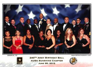 Senspex Attends Army Birthday Ball