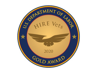Senspex Receives Gold HIRE Vets Medallion Award 2020