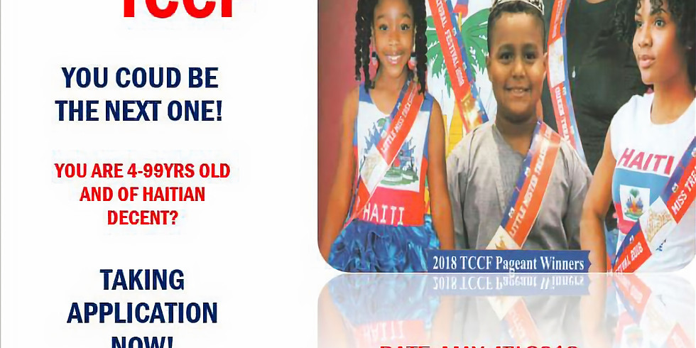 4TH ANNUAL MISS & MISTER TCCF PAGEANT