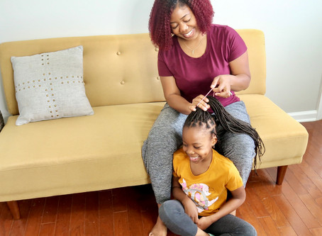Top tips for HEALTHY kids hair and management of texture.
