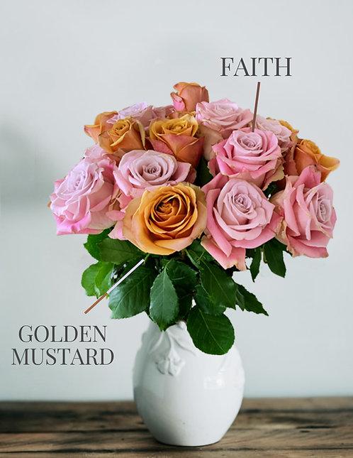 Duet Golden Mustard & Faith