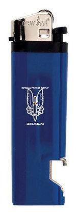 Aansteker Special Forces Group Belgium Blauw
