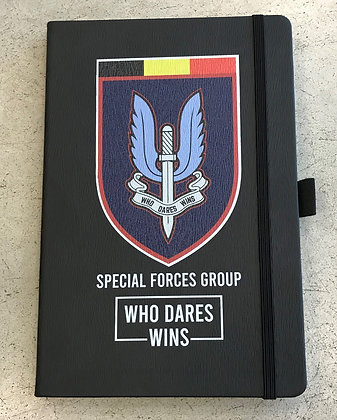 Notitieboekje Special Forces Group