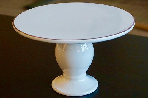 Small White Cake Tray