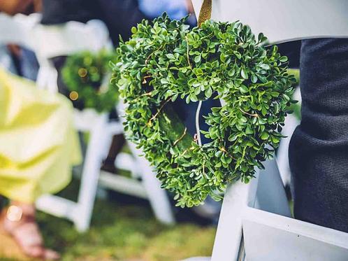 Hanging Heart Wreath