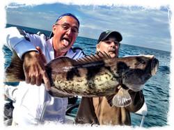 Big Grouper Deep sea fishing charter