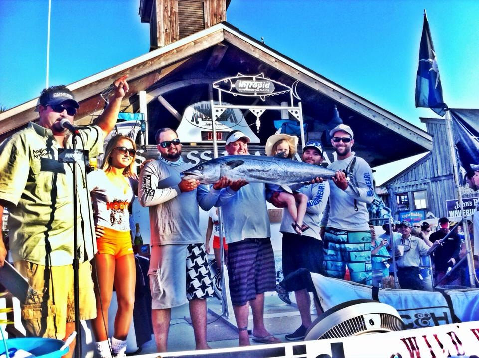 2nd Place finish Wild West Kingfish