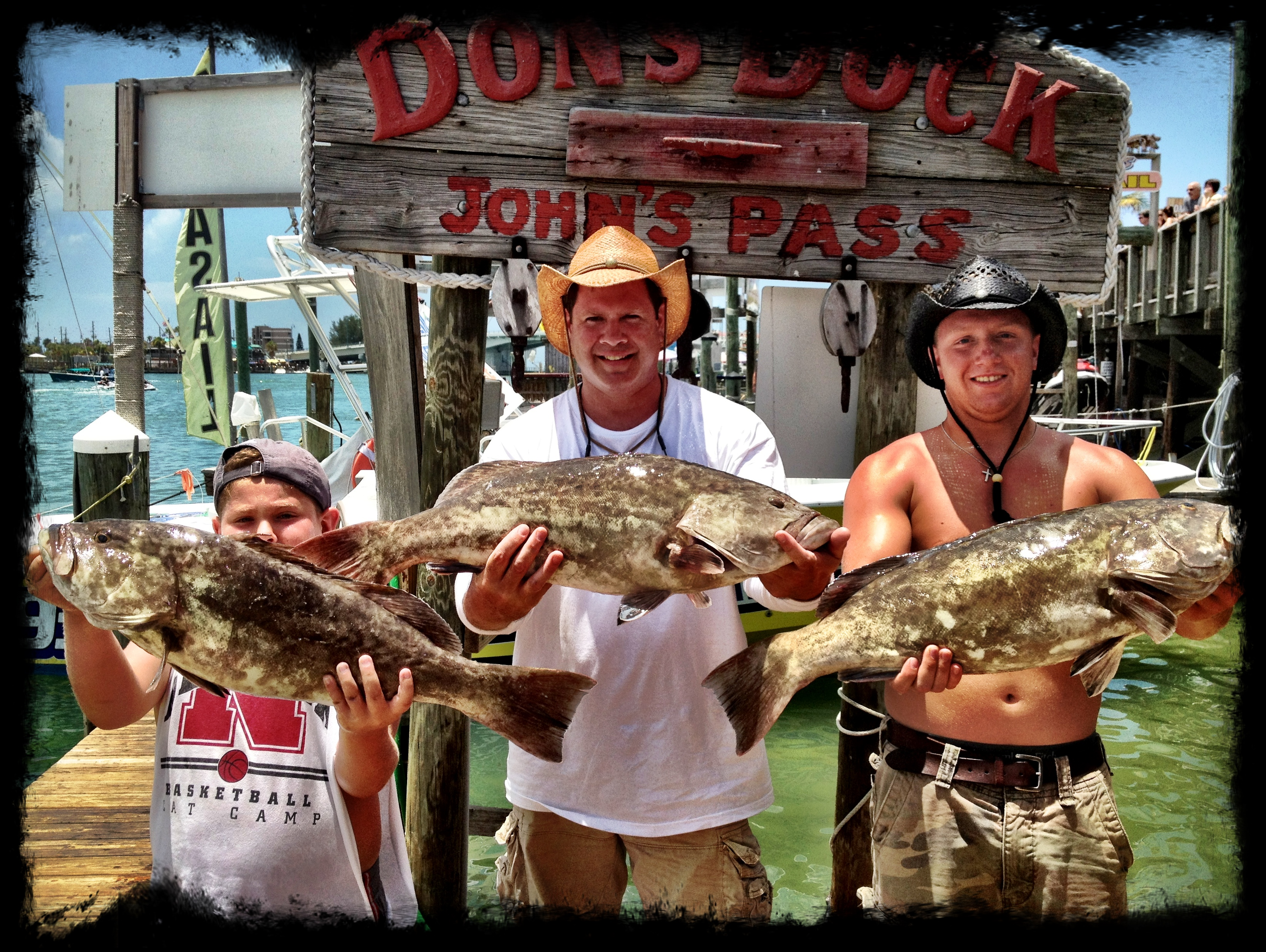 deep sea fishing charters Johns Pass