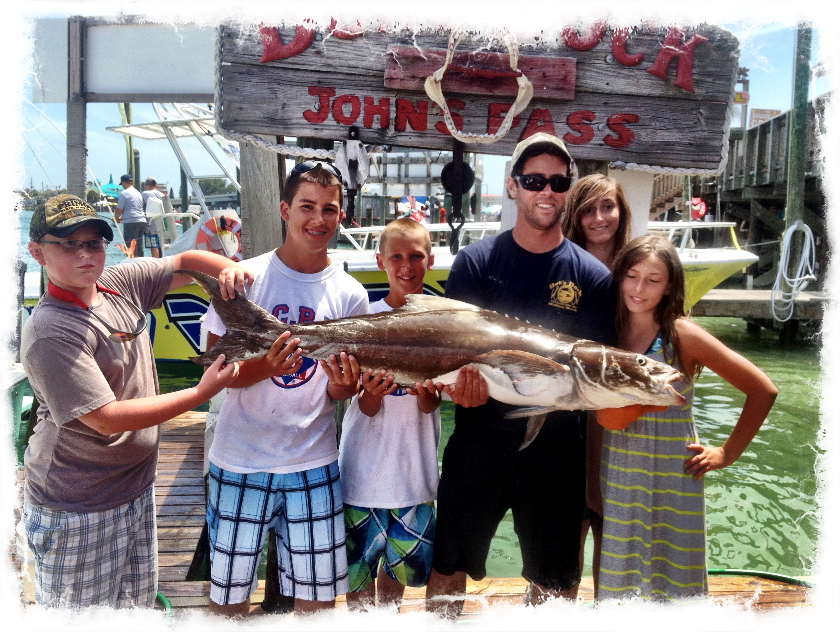 Deep sea fishing Johns Pass, Florida