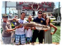 Deep sea fishing Johns Pass, Florida
