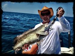 Grouper deep sea fishing charters