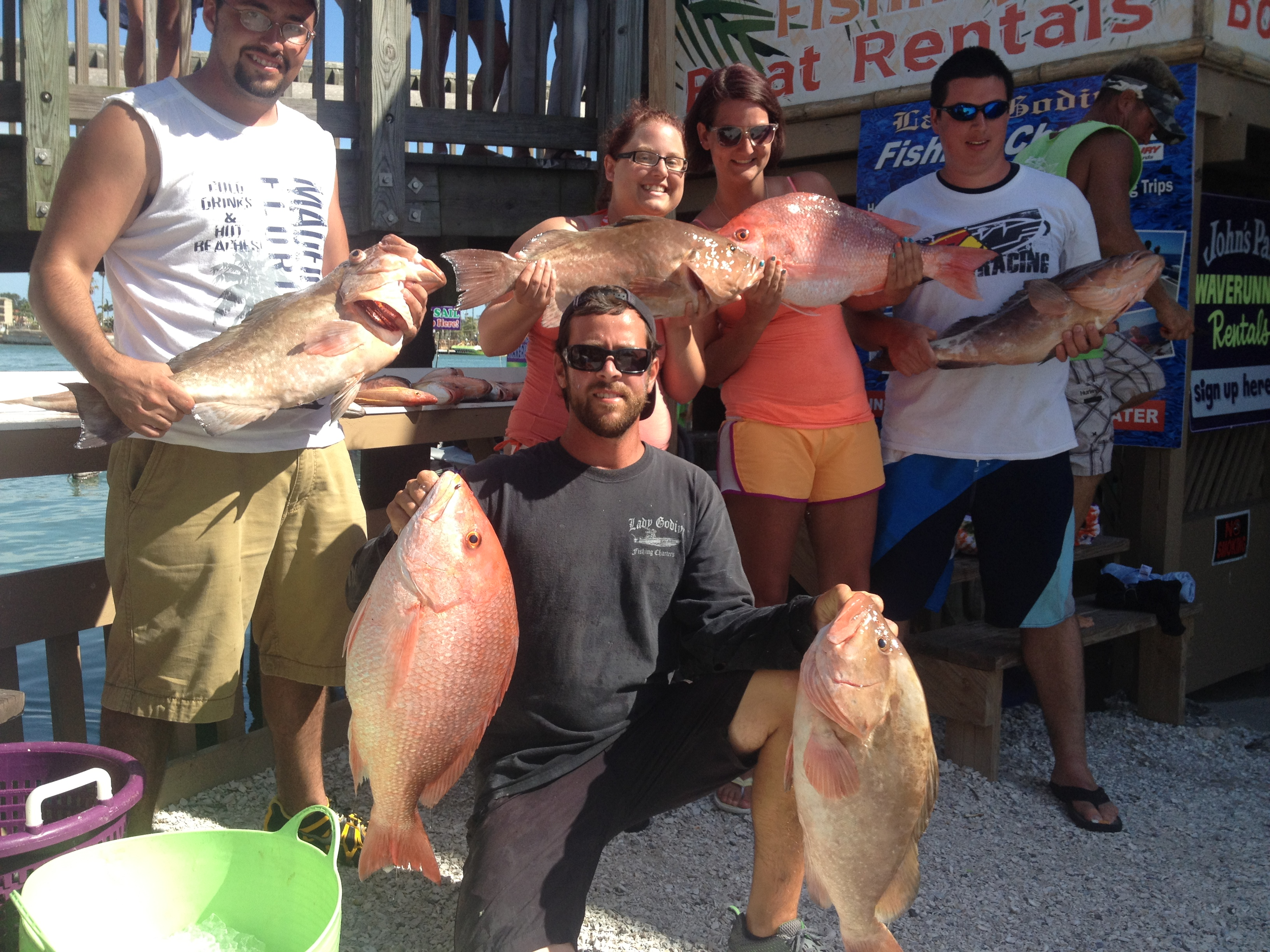 Snapper, Grouper, Deep sea fishing