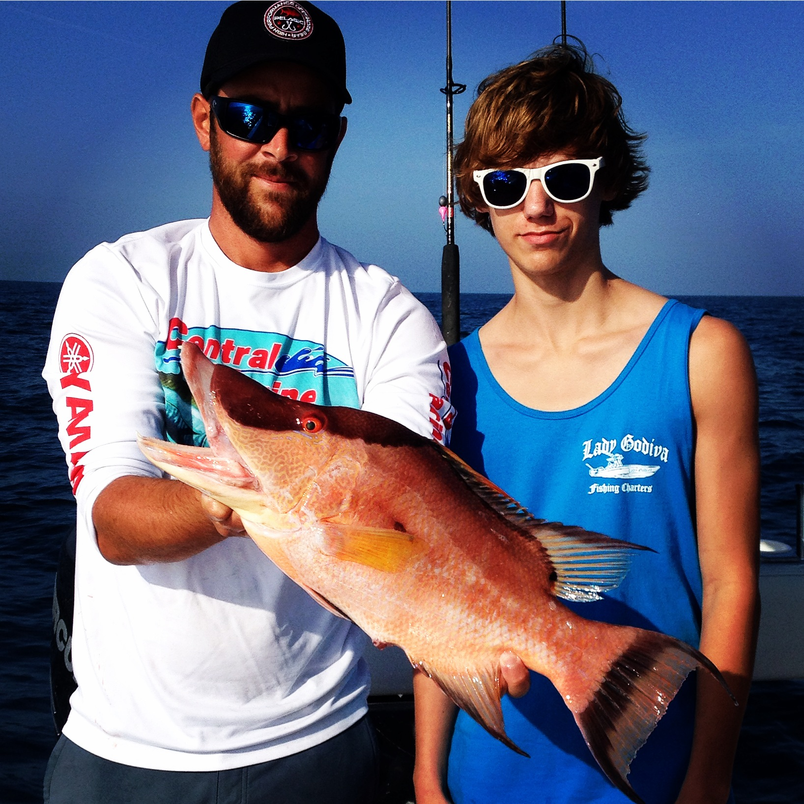 hogfish deep sea fishing florida
