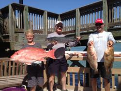 deep sea fishing charter, big fish