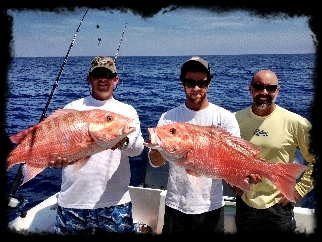 Snapper fishing charter Johns Pass