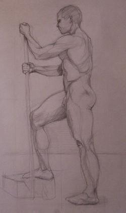 Graphite on Paper, 2010,18x24
