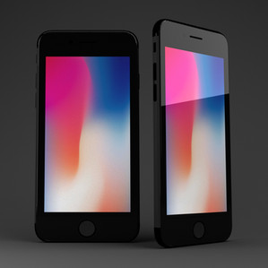 Iphone Product Render Art Direction