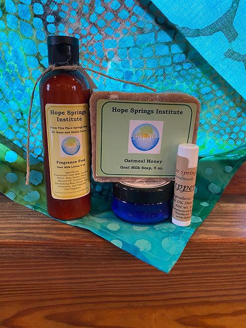 Sensitive Skin Body Care Set