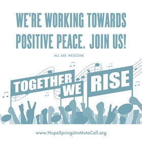 Working Towards Positive Peace