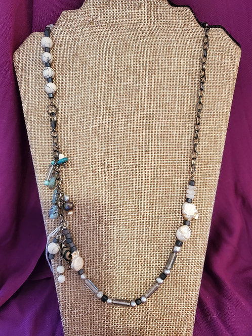 """28"""" hand strung beaded necklace"""