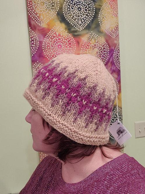 handknitted wool hat