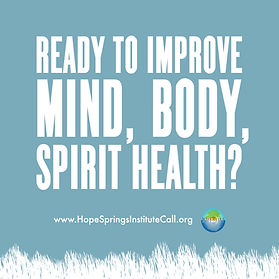 Improve Mind, Body, Spirit at Hope Springs Institute CALL Program