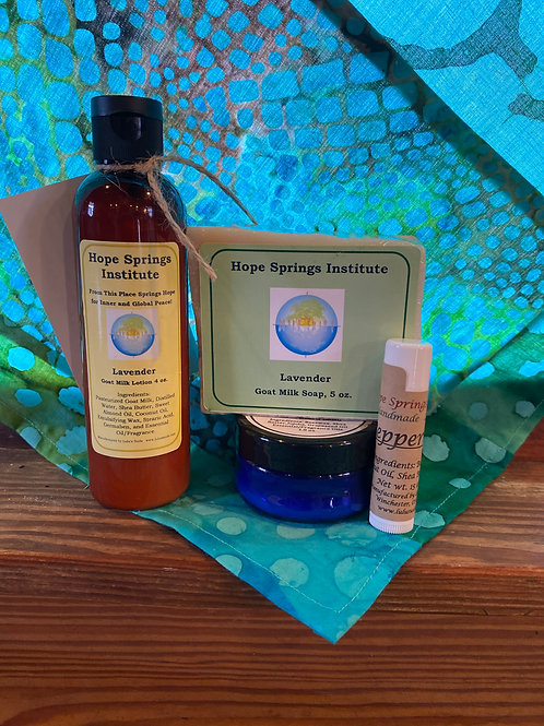 Lavender Body Care Set
