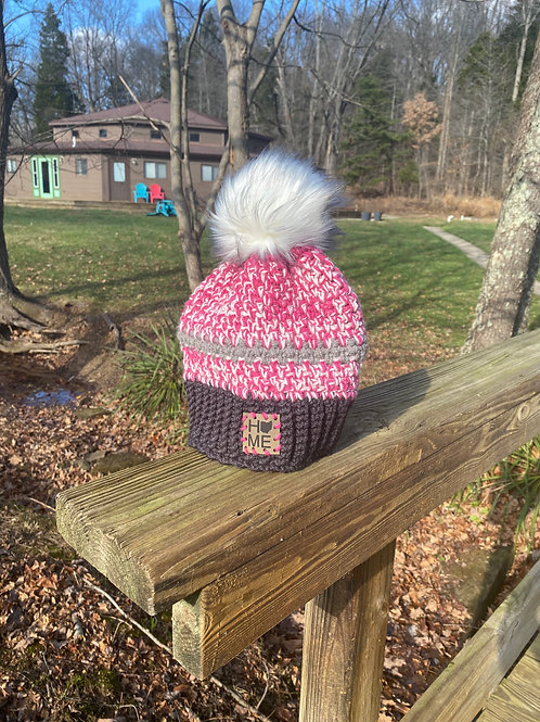 Pink on Ice Toboggan