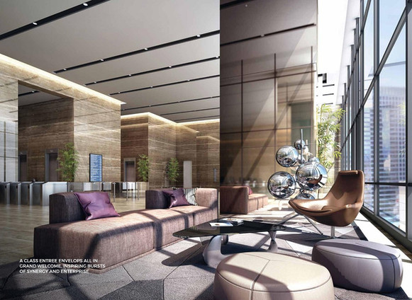 Oxley Towers Signature Office Lift Trans