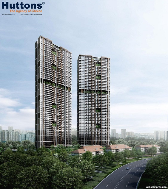 56-storey Towers