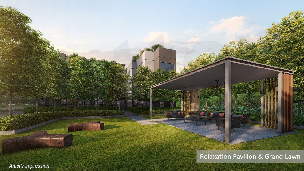 Relaxation Pavilion & Lawn