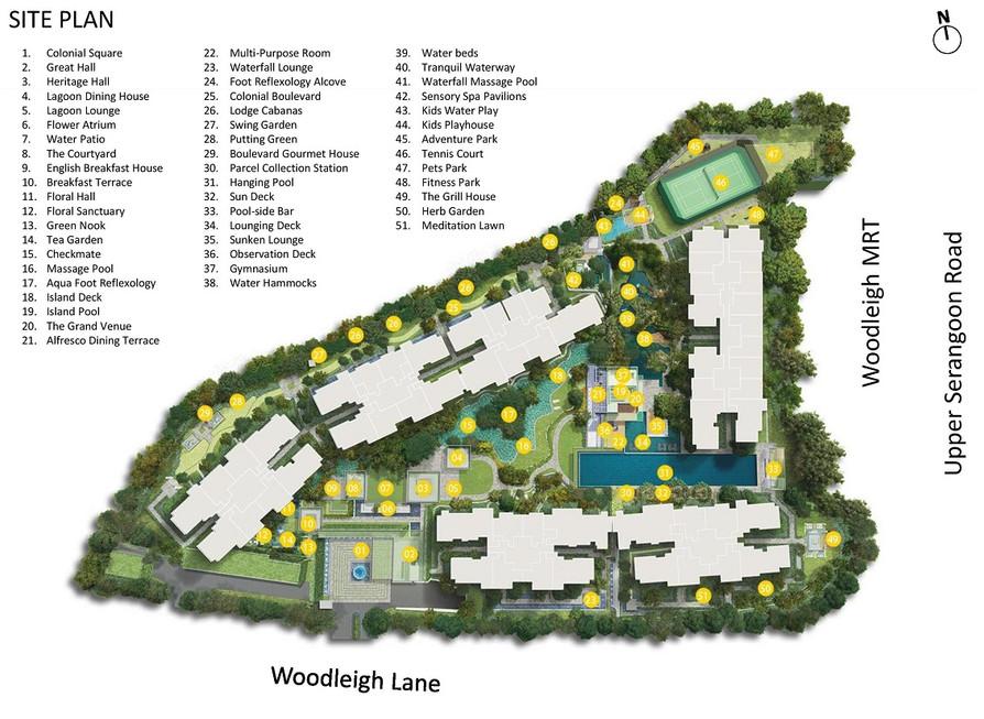 Park Colonial Site Plan