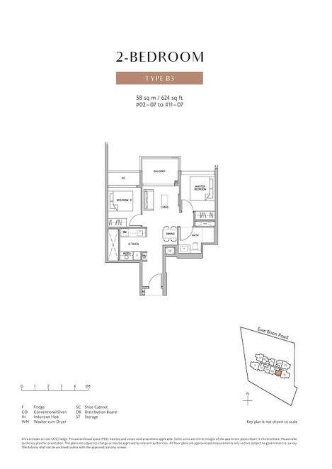 Juniper Hill 2 Bedroom Type B3
