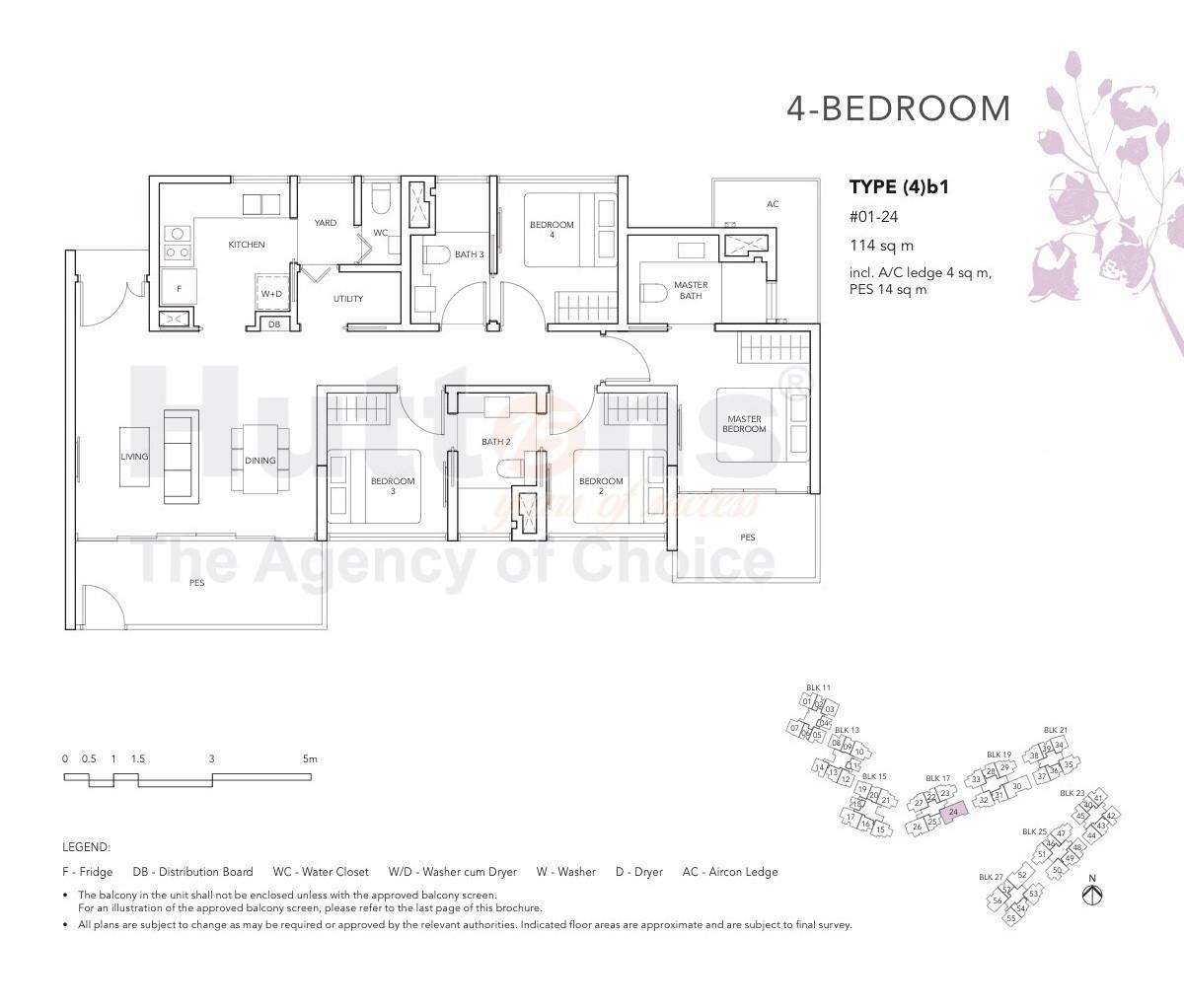 The Jovell 4 Bedroom