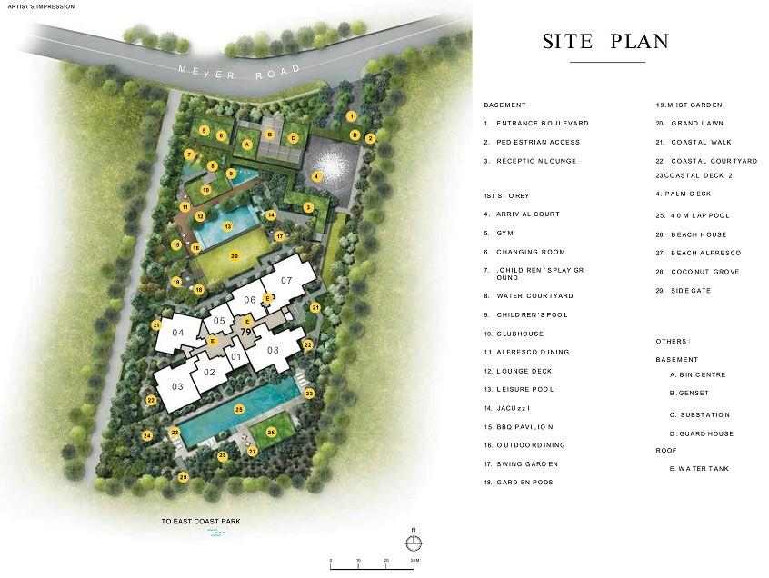 Meyer Mansion site plan